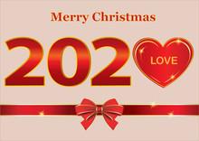 Christmas Card 2020 With Heart...