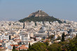 City of Athens in Greece, hill of Lycabettus
