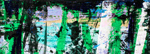 Abstract Art With Multicolor P...
