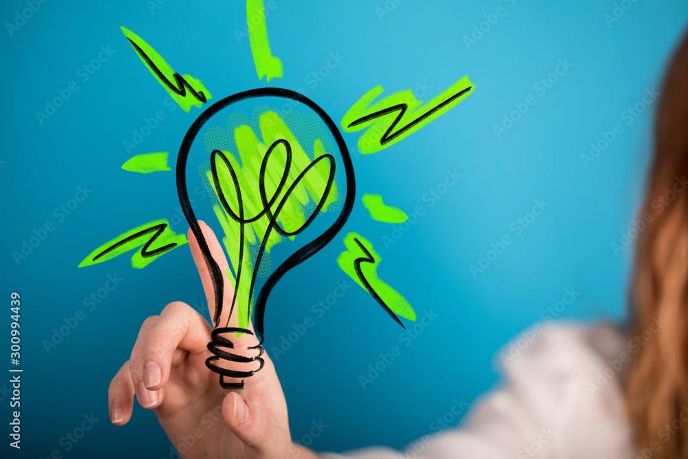 Fototapeta ecology world concept renewable