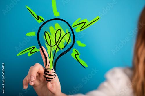 Fototapeta ecology world concept renewable obraz