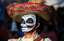 Day Of The Dead Folkloric Dancer