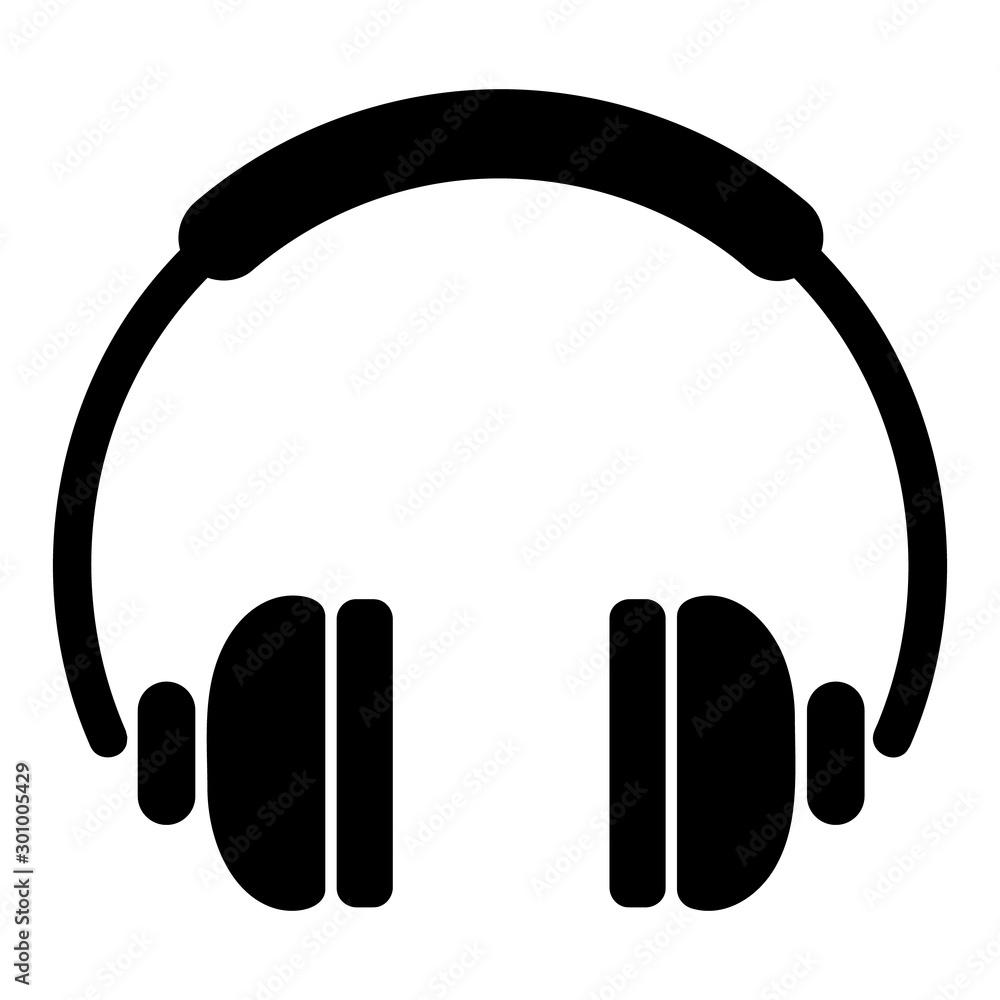 Fototapety, obrazy: Headphones icon