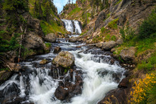 Mystic Falls In Yellowstone Na...