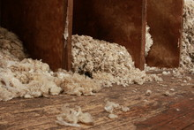 Piles Of Wool Piled Up On The ...