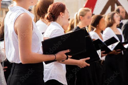 Fotografia Chorsängerinnen
