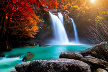 The Amazing Colorful Waterfall...