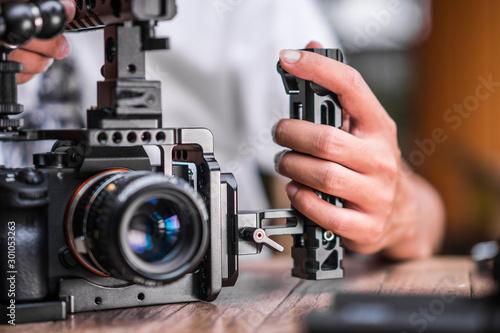 Valokuva Professional Videography Camera