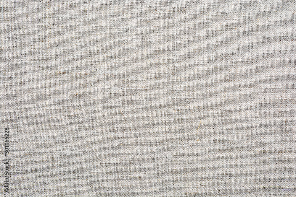 Fototapety, obrazy: Natural linen texture for background