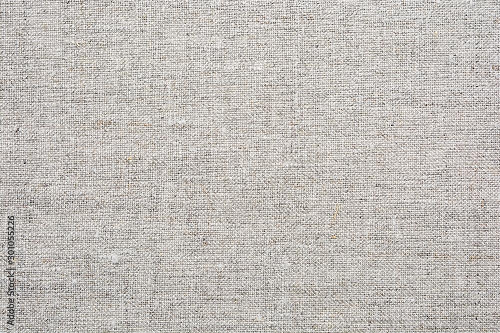 Fototapeta Natural linen texture for background