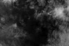 White Cloud And Black Sky Text...