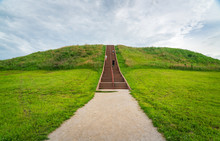 Stairs Up Cahokia Mounds State Historic Site