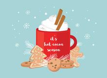 Christmas Greeting Card, Winte...