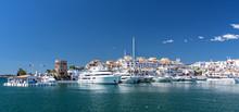Hafen  Von Marbella An Costa Del Sol
