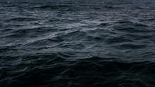 Dark And Deep Blue Ocean, Wate...