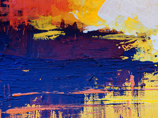 colorful painting texture abstract background.