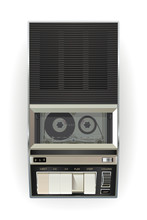 Old Cassette Tape Player On A ...