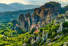 Monasteries Of Roussanou, Sain...
