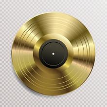 Vinyl Gold Blank