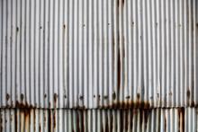 Rustic Zinc Sheet Wall Backgro...