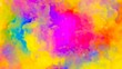 Abstract hypnotic colored texture looped background