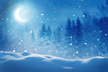 Winter  Background .Merry Chri...