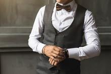 Men's Three-piece Wedding Suit...