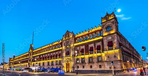 Photo sur Aluminium Con. Antique The National Palace in Mexico City