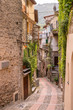 Vista del Borgo medievale Dolceacqua, Liguria, Italia