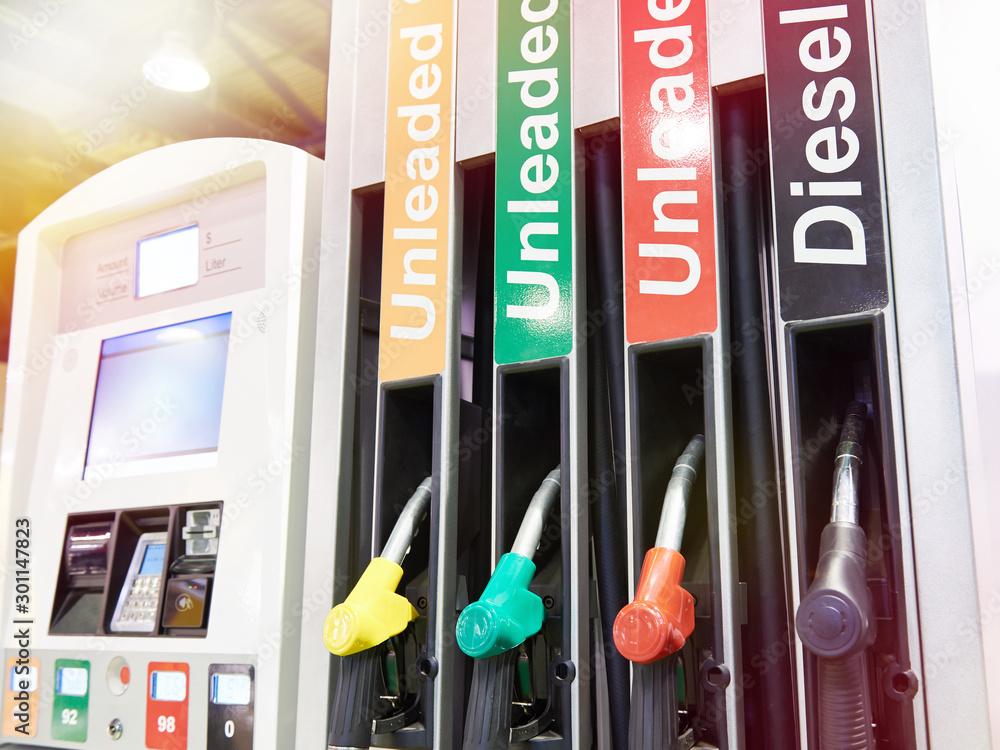 Fototapety, obrazy: Modern filling station