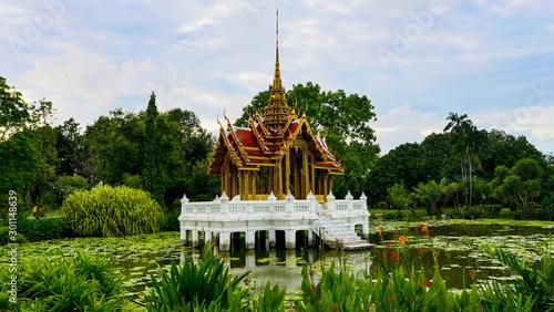 Photo  Rama IX Park The Largest Public Park in Bangkok