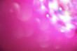 canvas print picture - Elegant pink and purple abstract background with bokeh lights. Copyspace.