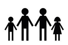 Familia De Hombres Homosexuales Con Hijos