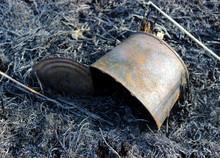 Tin Can On Burnt Ground