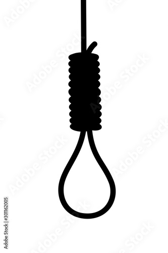 Hangman's knot - gibbet and noose Fototapeta