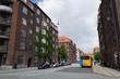 デンマーク、コペンハーゲンのオシャレな街角 2016年7月