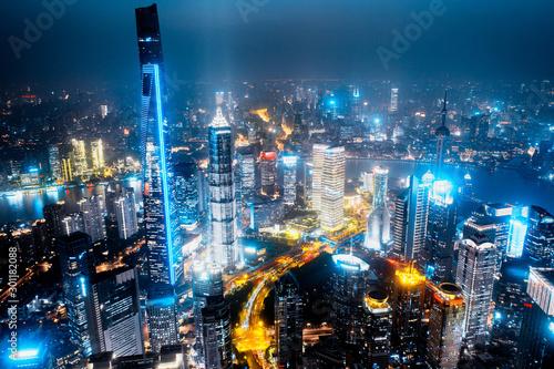 Foto auf Leinwand Shanghai shanghai city