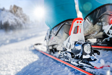 Winter Skis And Detailed View ...