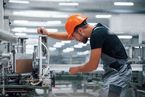 Fotografia Operator of machine
