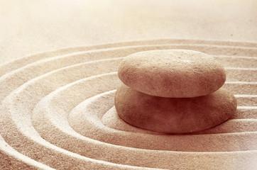 zen garden meditation stone...