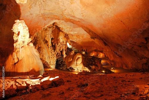 Photo sur Toile Rouge mauve Emine-Bair-Khosar Cave