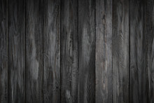 Gray Wooden Background With Ol...