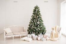 Christmas Festive Interior. Ch...