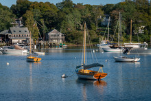Tranquil Quissett Harbor Near ...