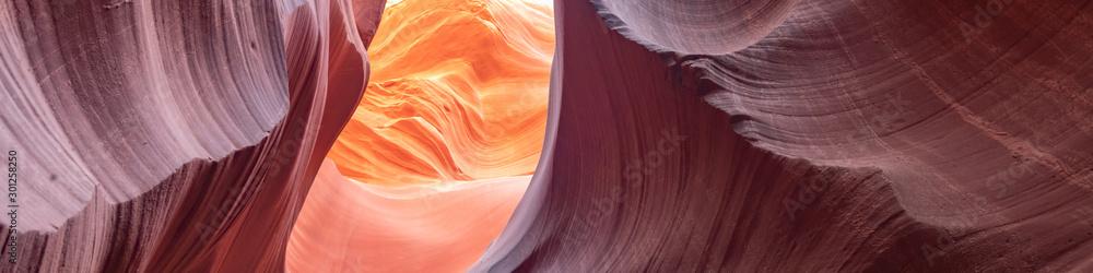 Fototapety, obrazy: Canyon Antelope, slot canyon near Page, Arizona, USA