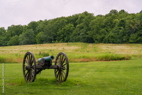 Photo Single Cannon at Wilson's Creek National Battlefield
