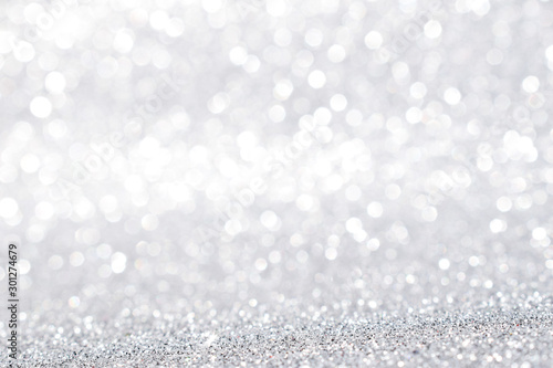 Pinturas sobre lienzo  silver glitter abstract background