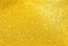 Sparkles Of Golden Glitter Tex...