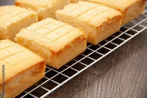 Tuinposter Brood Homemade classic butter cake