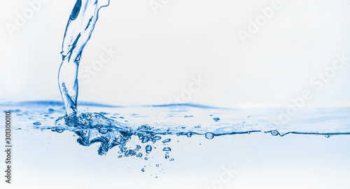 Carta da parati drink more water concept